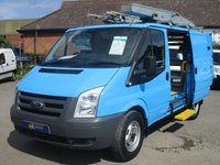 USED 2010 60 FORD TRANSIT 330 AWD 140BHP WITH AIR-CON FROM BRITISH GAS