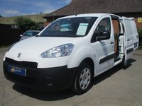 USED 2014 14 PEUGEOT PARTNER 625 SE WITH 3 SEAT CAB, ELECTRIC WINDOWS & MIRRORS