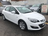 USED 2014 14 VAUXHALL ASTRA 1.2 DESIGN CDTI ECOFLEX 5d 95 BHP PRICE INCLUDES A 6 MONTH AA WARRANTY DEALER CARE EXTENDED GUARANTEE, 1 YEARS MOT AND A OIL & FILTERS SERVICE. 12 MONTHS FREE BREAKDOWN COVER