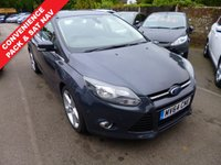 USED 2014 64 FORD FOCUS 1.6 TITANIUM NAVIGATOR TDCI 5d 113 BHP THIS VEHICLE IS AT SITE 1 - TO VIEW CALL US ON 01903 892224