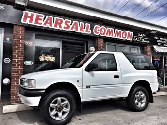View our VAUXHALL FRONTERA