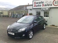 USED 2014 14 FORD FOCUS ZETEC 1.6L FULL SERVICE HISTORY - FANTASTIC CONDITION £48 PER WEEK OVER 5 YEARS - SEE FINANCE LINK