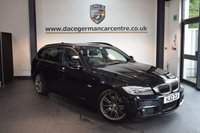 USED 2012 12 BMW 3 SERIES 2.0 320D SPORT PLUS EDITION TOURING 5DR 181 BHP + FULL BLACK LEATHER INTERIOR + FULL BMW SERVICE HISTORY + BLUETOOTH + SPORT SEATS + CRUISE CONTROL + LIGHT PACKAGE + PARKING SENSORS + 18 INCH ALLOY WHEELS +