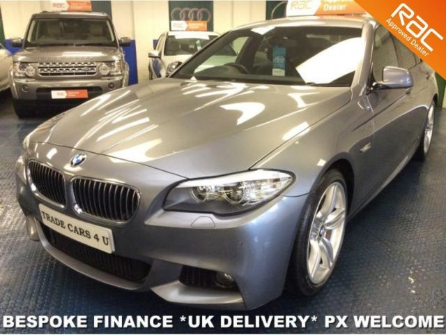2010 60 BMW 5 SERIES 520D M SPORT 6 SPEED DIESEL