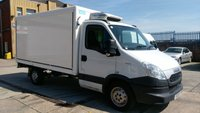 USED 2013 13 IVECO-FORD DAILY 2.3 35S11 1d 106 BHP 10ft 2.3 FRIDGE BOX VAN BODY