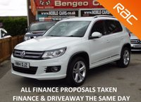 USED 2014 14 VOLKSWAGEN TIGUAN 2.0 R LINE TDI BLUEMOTION TECHNOLOGY 4MOTION 5d 139 BHP
