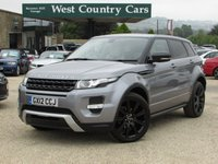 USED 2012 12 LAND ROVER RANGE ROVER EVOQUE 2.2 SD4 DYNAMIC LUX 5d AUTO 190 BHP Stylish Compact SUV