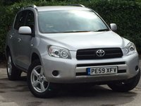 USED 2009 59 TOYOTA RAV4 2.0 VVT-I LIMITED EDITION 5d 151 BHP