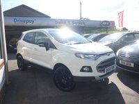 USED 2016 66 FORD ECOSPORT 1.0 TITANIUM S 5d 138 BHP NEED FINANCE? WE CAN HELP. WE STRIVE FOR 94% ACCEPTANCE