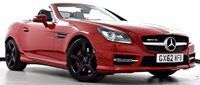 USED 2013 62 MERCEDES-BENZ SLK 2.1 SLK250 CDI BlueEFFICIENCY AMG Sport 7G-Tronic 2dr Pan Roof, Sat Nav, DAB Radio