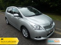 USED 2011 61 TOYOTA VERSO 2.0 TR D-4D 5d 125 BHP FANTASTIC TOYOTA VERSO DIESEL WITH ONE PREVIOUS LADY OWNER, GLASS PANORAMIC ROOF, SEVEN SEATS, CLIMATE CONTROL, ALLOY WHEELS AND TOYOTA SERVICE HISTORY