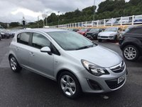 USED 2012 62 VAUXHALL CORSA 1.4 SXI AC 5d 98 BHP A/C, only 37,000 miles with service history