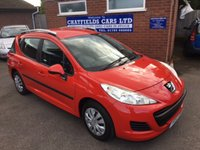 USED 2010 60 PEUGEOT 207 1.6 HDI SW S 5d 92 BHP 2 OWNERS, £30 ROAD TAX