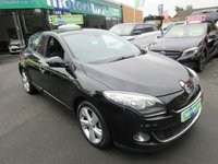 USED 2012 62 RENAULT MEGANE 1.6 DYNAMIQUE TOMTOM VVT 5d 110 BHP .. CALL 01543 379066 FOR MORE INFO