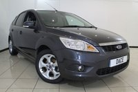 USED 2011 11 FORD FOCUS 1.6 SPORT TDCI 5DR 107 BHP SERVICE HISTORY + AIR CONDITIONING + SAT NAVIGATION + PARKING SENSOR + RADIO/CD + 16 INCH ALLOY WHEELS