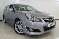 USED 2010 SUBARU LEGACY 2.0 D SE 5DR 150 BHP FULL SERVICE HISTORY + CLIMATE CONTROL + CRUISE CONTROL + MULTI FUNCTION WHEEL + SUNROOF + 18 INCH ALLOY WHEELS