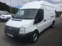 2012 FORD TRANSIT T350 2.2 TDCi 125 6-Speed LWB High Roof  £SOLD