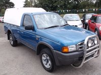 USED 2000 FORD RANGER 2.5 REGULAR CAB 4X4 1d 107 BHP A VERY WELL MAINTAINED 4X4 DIESEL TRUCK, DRIVES SUPERBLY, READY FOR WORK, NO VAT !!!!!!