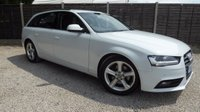 USED 2012 62 AUDI A4 AVANT 2.0 TDI SE TECHNIK 5dr £30/yr Tax, Sat Nav, 1 Owner