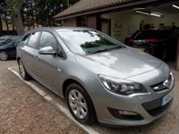 USED 2014 14 VAUXHALL ASTRA 1.6 DESIGN CDTI ECOFLEX S/S 5d 134 BHP FULL VAUXHALL SERVICE HISTORY, ONLY £20 A YEAR ROAD TAX, 1 OWNER FROM NEW, 2 KEYS