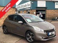 USED 2013 13 PEUGEOT 208 1.4 HDI INTUITIVE 3d 68 BHP HUGE SPEC 208 Diesel inc SAT NAV Bluetooth Park Assist Panoramic Roof 1 OWN FSH