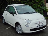 USED 2011 61 FIAT 500 1.2 POP 3d **IDEAL FIRST CAR**LOW RUNNING COSTS**