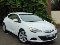 USED 2014 63 VAUXHALL ASTRA 1.4 GTC SPORT S/S 3d 12 MONTHS FREE AA MEMBERSHIP