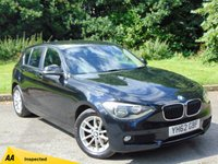 USED 2012 62 BMW 1 SERIES 2.0 116D SE 5d 114 BHP * 128 POINT AA INSPECTED *