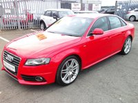 USED 2008 58 AUDI A4 2.0 TDI S Line 4dr LOW MILES+S LINE+STUNNING CAR!