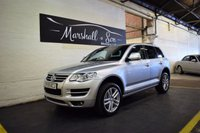 USED 2009 59 VOLKSWAGEN TOUAREG 3.0 V6 ALTITUDE TDI 5d AUTO 240 BHP 5 STAMPS TO 83K - FULL LEATHER - STUNNING CONDITION