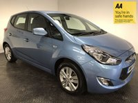 USED 2014 14 HYUNDAI IX20 1.6 ACTIVE 5d AUTO 123 BHP FSH-1 OWNER-BLUETOOTH-A/C-ALLOYS