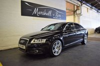 USED 2009 59 AUDI A6 2.7 TDI QUATTRO LE MANS 4d AUTO 187 BHP STUNNING CONDITION THROUGHOUT - 7 STAMPS TO 120K