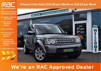 USED 2011 11 LAND ROVER DISCOVERY 4 4 3.0 SDV6 GS 5d AUTO 245 BHP FINANCE FROM ONLY £232.66pm