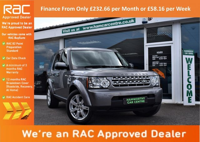2011 11 LAND ROVER DISCOVERY 4 4 3.0 SDV6 GS 5d AUTO 245 BHP