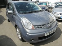 USED 2008 08 NISSAN NOTE 1.6 TEKNA 5d AUTOMATIC 109 BHP