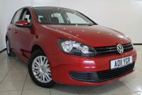 USED 2011 11 VOLKSWAGEN GOLF 1.6 S TDI 5DR 103 BHP FULL SERVICE HISTORY + AIR CONDITIONING + RADIO/CD + ELECTRIC WINDOWS + ELECTRIC MIRRORS
