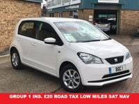 USED 2014 14 SEAT MII 1.0 TOCA 5d 59 BHP Super Seat Mii 1.0 Toca.....Sat Nav with Bluetooth Group 1 insurance £20 Road Tax 62.8MPG