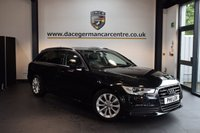 USED 2012 12 AUDI A6 3.0 AVANT TDI QUATTRO SE 5DR AUTO 245 BHP + FULL BLACK LEATHER INTERIOR + FULL AUDI SERVICE HISTORY + 1 OWNER FROM NEW + SATELLITE NAVIGATION + BLUETOOTH + HEATED FRONT/REAR SPORT SEATS + CRUISE CONTROL + HEATED MIRRORS + PARKING SENSORS + 17 INCH ALLOY WHEELS +