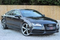 USED 2013 63 AUDI A7 3.0 TDI QUATTRO S LINE BLACK EDITION 5d AUTO 245 BHP A REAL CREDIT TO ITS LAST OWNER. GENIUNE THROUGHOUT.