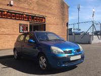 USED 2005 05 RENAULT CLIO 1.1 DYNAMIQUE 16V 3d 75 BHP