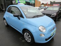 USED 2013 13 FIAT 500 1.2 POP 3d 69 BHP JUST ARRIVED CALL 01543 379066