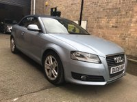 USED 2008 08 AUDI A3 CABRIOLET 2.0 TDI Sport 2dr 1 Owner FSH Heated Seats