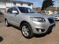 2011 HYUNDAI SANTA FE 2.2 PREMIUM CRDI +++ 7 SEATER ++ 194 BHP FULL LEATHER £11000.00