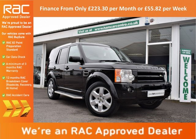 2006 D LAND ROVER DISCOVERY 3 3 2.7 TDV6 HSE 5d AUTO 188 BHP