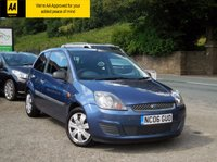 USED 2006 06 FORD FIESTA 1.2 STYLE CLIMATE 16V 3d 78 BHP A REALLY BEAUTIFUL EXAMPLE WITH EXCELLENT SERVICE HISTORY AND A LONG MOT, READY TO BE DRIVEN AWAY TODAY!