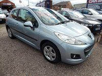 USED 2010 59 PEUGEOT 207 1.4 VERVE 3d 73 BHP F.S.H, LOW INSURANCE, CHEAP ROAD TAX, ALLOYS