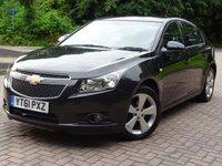 2011 CHEVROLET CRUZE 1.8 LTZ 5d AUTO 141 BHP £4177.00