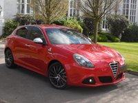 2015 ALFA ROMEO GIULIETTA 1.4 TB MULTIAIR SPRINT SPECIALE TCT 5d AUTO 170 BHP £16995.00