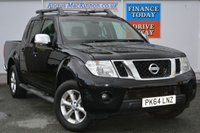 USED 2014 64 NISSAN NAVARA 2.5 DCI TEKNA 4X4 SHR DCB 1d 188 BHP **ONE OWNER FROM NEW**