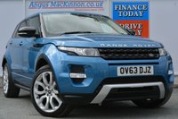 USED 2013 63 LAND ROVER RANGE ROVER EVOQUE 2.2 SD4 DYNAMIC LUX 5d AUTO 190 BHP £3K WORTH OF EXTRAS